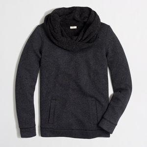 J. Crew Factory Funnelneck Sweatshirt - Like New!